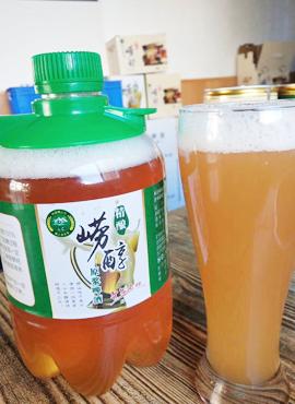 精酿崂醇啤酒